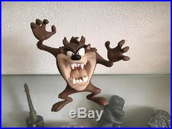 Extremely Rare! Looney Tunes Taz Angry Leblon-Delienne LE of 7000 Fig Statue