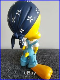 Extremely Rare! Looney Tunes Tweety Biker Demons & Merveilles Figurine Statue