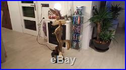 Extremely Rare! Looney Tunes Wile E Coyote Lifesize Lamp Figurine Statue