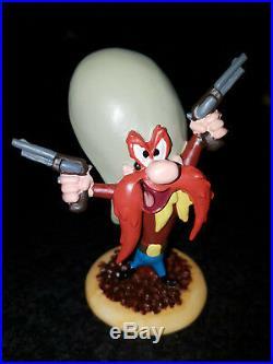 Extremely Rare! Looney Tunes Yosemite Sam Gun Slinger Small Figurine Statue