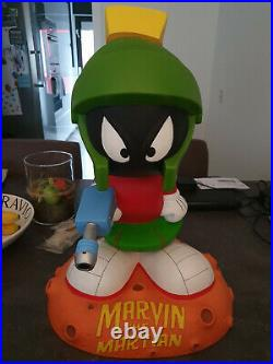 Extremely Rare! Marvin the Martian Standing on Mars Giant Funko Figurine Statue