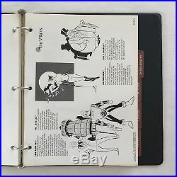 Extremely Rare Vintage 1992 DC Comics/WB BATMAN The Animated Series Style Guide