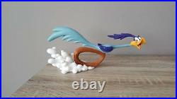 Extremely Rare! WB Looney Tunes Road Runner Running Full Speed Figurine Statue