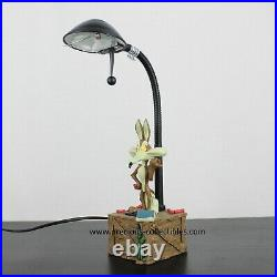 Extremely rare! Wile E. Coyote lamp. Looney Tunes. Warner Bros