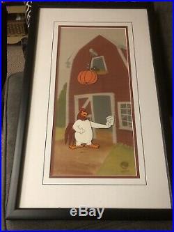 Foghorn Leghorn Animation Cel Rare Warner Brothers Art