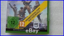 Fortnite Xbox One PROMO Promotional Disc Game Rare Fortnite Microsoft Xbox One