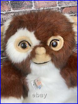 Giant Gremlins Gizmo Plush Doll Quiron 43 Warner Bros Vintage 80's Highly Rare