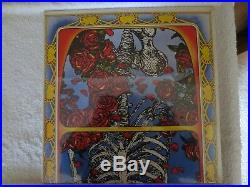 Grateful Dead Rare 1971 Skull and Roses Live Album 1st Press Dbl Vinyl LP/Sealed