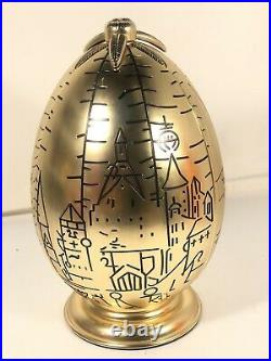 Harry Potter Golden Egg Jewelry Box Rare TriWizard Display by Pottery Barn