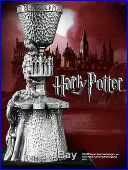 Harry Potter Heavy 7 Pewter Goblet of Fire Replica Warner Bros Japan Rare