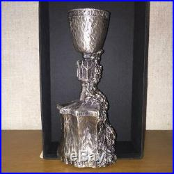 Harry Potter Heavy 7 Pewter Goblet of Fire Replica Warner Bros Rare Japan