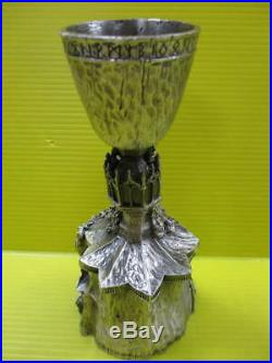 Harry Potter Limited Statue Pewter Goblet of Fire Replica Warner Bros 7 F/S Rare