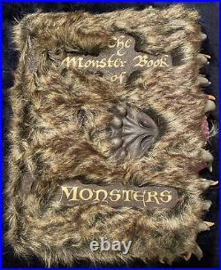 Harry Potter Monster Book Of Monsters Replica Film Prop Rare