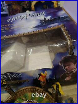 Harry Potter Quidditch Pitch Exmas Village Rare