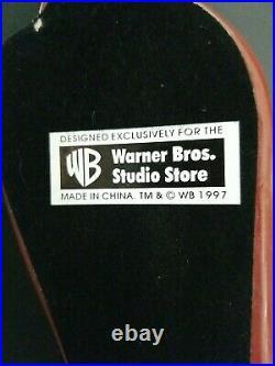 Huge 18 Tazmanian Devil Warner Bros Studio Store 1997 Taz Statue Rare