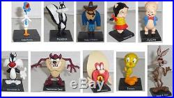 Italian COMPLETE SET 30 Metal Lead FIGURES Looney Tunes OFFICIAL Ultra Rare MINT