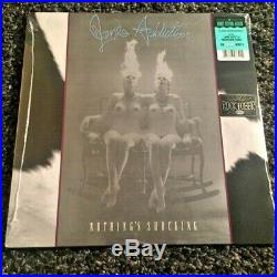 JANE'S ADDICTION Nothing's Shocking CLEAR vinyl LP 2017 reissue SEALED OOP rare