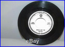 Joanie Sommers-Don't Pity Me b/w My Block RARE 1965 WB Radio Promo 7