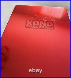 Kong Skull Island Zavvi Exclusive UK Steelbook 4K UHD Blu Ray SOLD OUT And Rare
