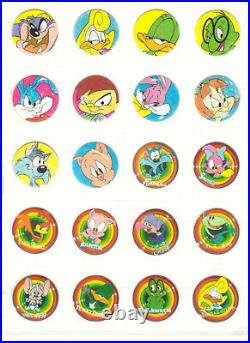LOONEY TUNES / TINY TOON Complete 100 Tazos Toys Collection Figures Vintage