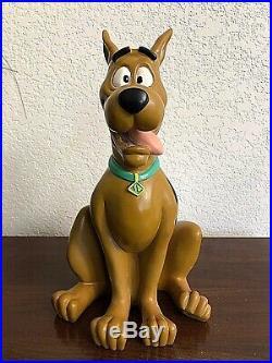 Large 12 SCOOBY DOO STATUE 1998 Warner Bros Hanna-Barbera a Big Figure Rare
