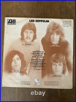 Led Zeppelin I Vinyl LP Turquoise Lettering 1969 UK Original Plum Superhype RARE