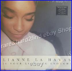 Lianne La Havas IS YOUR LOVE BIG ENOUGH 2012 UK Vinyl LP inc. 12 ART CARDS Rare