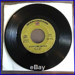 Linda Jones I Just Cant Live My Life RARE VG Northern Soul 45 George Kerr 7278