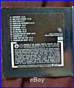 Linkin Park Hybrid Theory -rare 2000 Warner Bros Promo CD 2A-47755-B