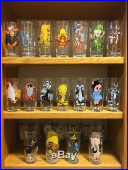 Looney Tunes 1973 Warner Bros Pepsi Collectors Glasses 13 Different Rare