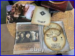 Lord of the Rings Trilogy Blu-Ray Extended Edition Steelbook Set Rare OOP