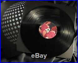 MADONNA HUNG UP 12'' PROMO VINYL RECORD Mirror Ball Sleeve RARE! UK 2005 LP