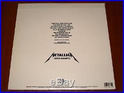 METALLICA DEATH MAGNETIC 2x LP RARE 1st PRESS VINYL 2008 WARNER BROS RECORDS