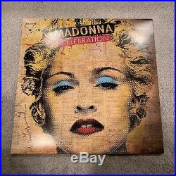 Madonna CELEBRATION Vinyl LP USED NM RARE