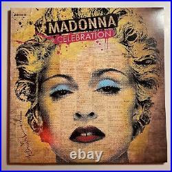 Madonna Celebration hits compilation 4 LP Vinyl Record RARE COPY EX/EX
