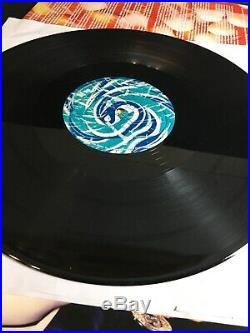 Madonna Hard Candy US 3 LP Vinyl Set Blue Pink Splatter Colored rare Record
