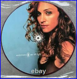 Madonna Ray Of Light Picture disc vinyl Limited Edition Very Rare