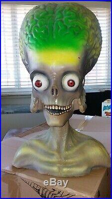 Mars Attacks Rare Foam Bust 1/1 Scale Warner Brothers 1997 Tim Burton