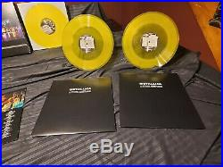 Metallica S&M Rare Yellow Vinyl Box Set Ltd to 500 Copies 45 Series 6LP Set