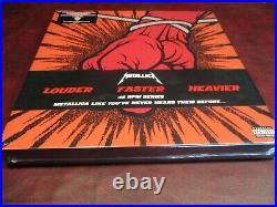 Metallica St Anger Rare Audiophile Collectors Limited Edition 45rpm 4 Lp Boxset