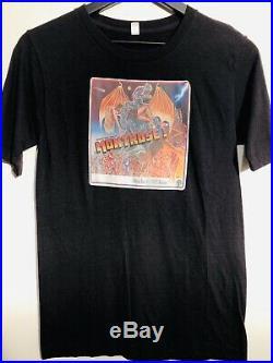 Montrose 1975 Warner Bros Presents PROMO Vintage T-Shirt Shirt RARE