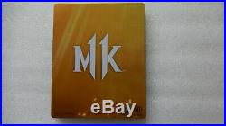 Mortal Kombat 11 PS4 PROMO Game + Mortal Kombat 11 Steelbook PlayStation 4 Rare