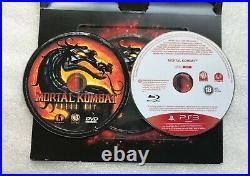 Mortal Kombat PS3 PRESS KIT Media/PROMO Rare PlayStation 3 Mortal Kombat 9 PROMO