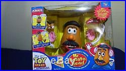Mr Potato Head TOY STORY COLLECTION Thinkway Toys RARE like new