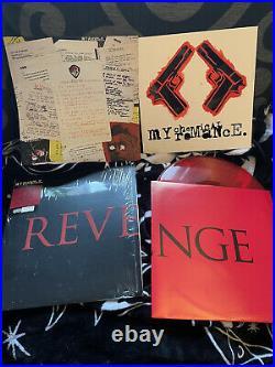 My Chemical Romance Three Cheers For Sweet Revenge Vinyl Record VERY RARE