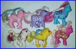 My Little Pony G1 TWICE AS FANCY baby Sugarberry RARE COMPLETE SET mail order