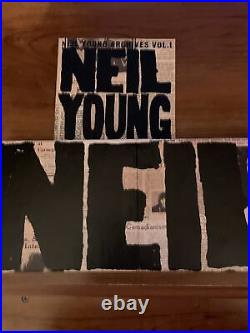 NEIL YOUNG Archives Vol. 1 1963-1972 8 CD Set RARE OOP