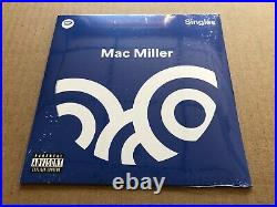NEW SUPER RARE Mac Miller Spotify Singles 7 BLUE Vinyl