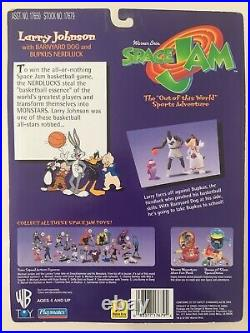 NEW Space Jam Larry Johnson with Barnyard and Bupkus All Stars Action Figure RARE