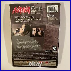 Nana Anime Box Set Vol. 2 Uncut RARE! (DVD, 2009, 3-Disc Set)